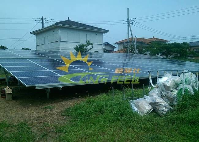 Portable Solar PV Mounting Systems 12um Anodizing Surface Treatment